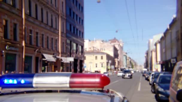 incidentu siréna zločinu zatčení provoz