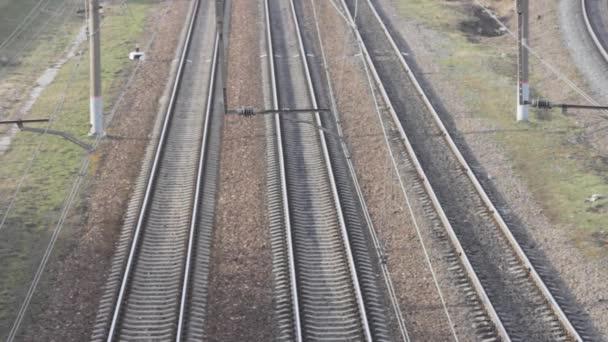 train on the railway motion