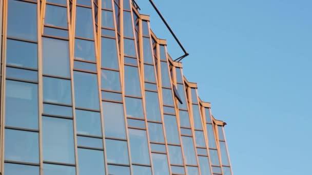 zrcadlo fasáda budova sklo kancelářské okna