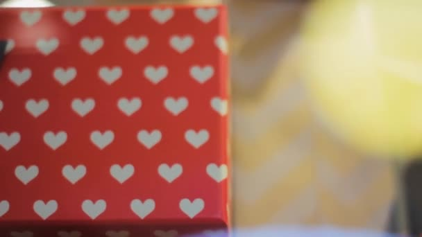 Valentines day gift   box love