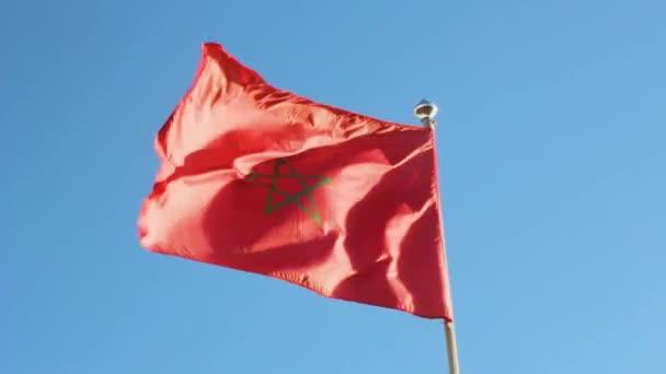 Národní Afrika v Maroku vlajky