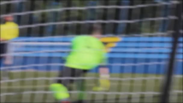 football penalty boy goal team