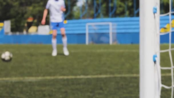 Fußball kickt Elfer