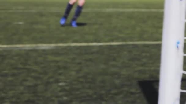 Fußball-Boy holt Sieg