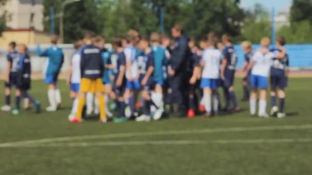 fair play football handshake soccer boys  team