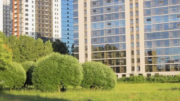 building in the park landscape grass background garden