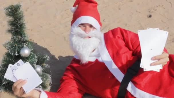 santa claus two tickets   voyage  travel vacation merry christmas