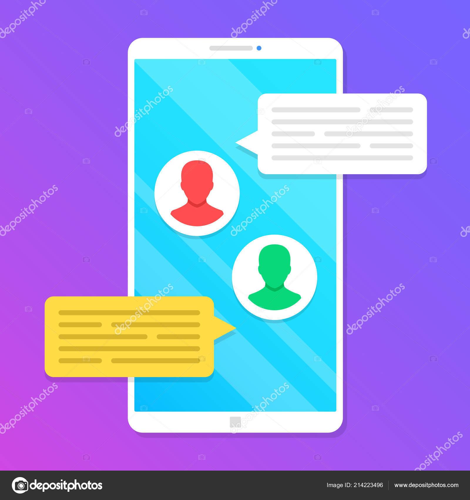 Chatování app app