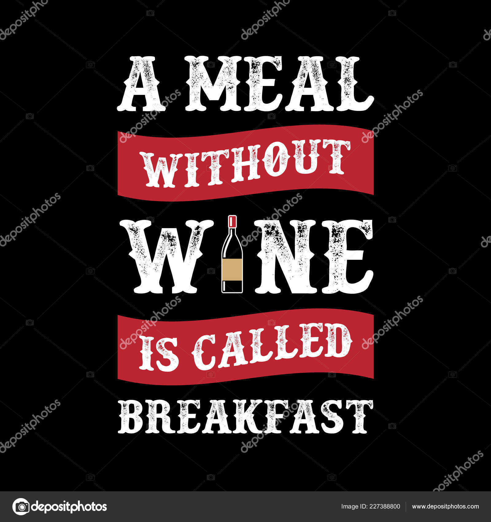 56ff18d6 Funny Wine Quote Saying 100 Vector Best Graphic Your Goods — Stock Vector