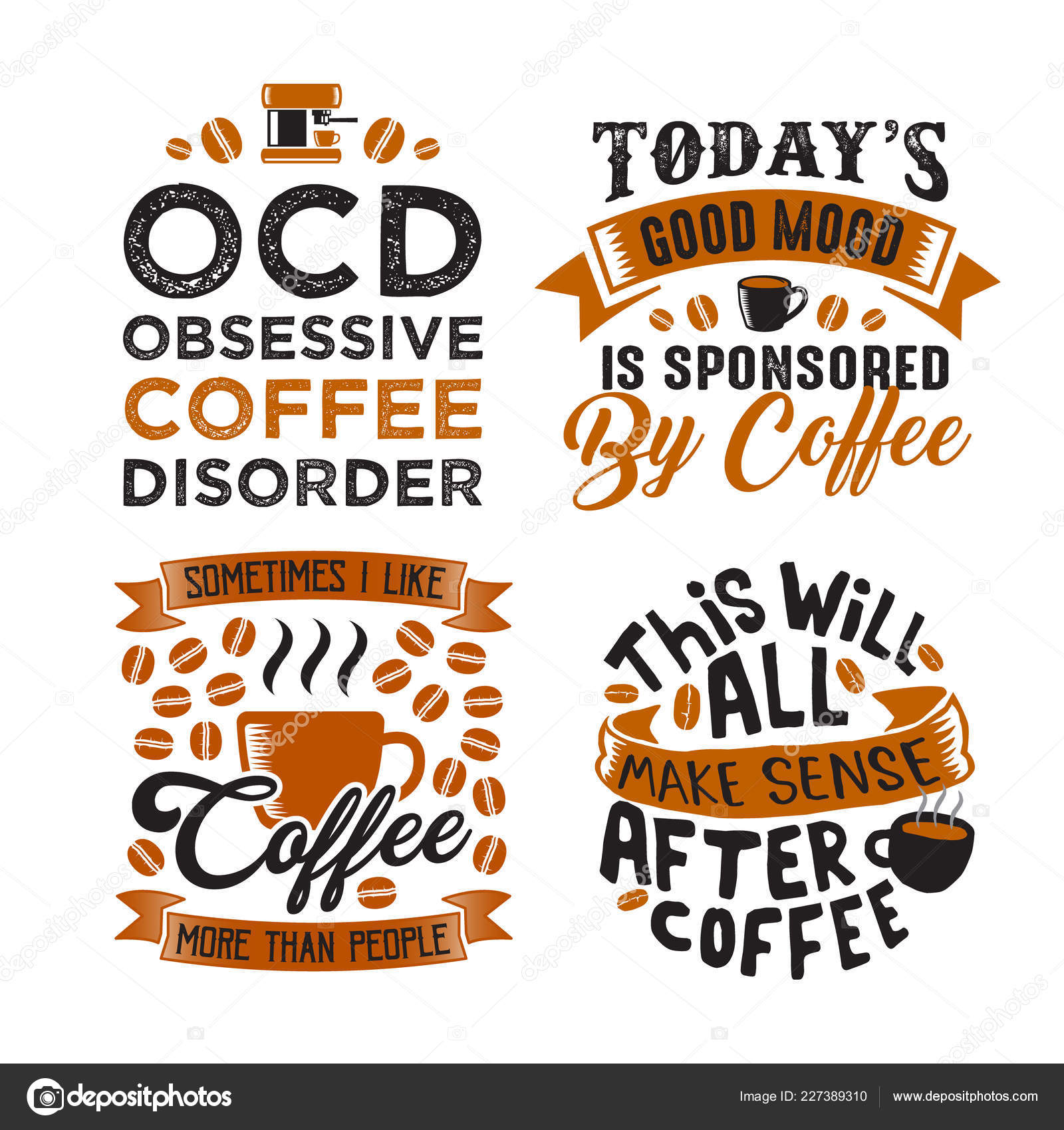 coffee quote Archives - Caluya Design