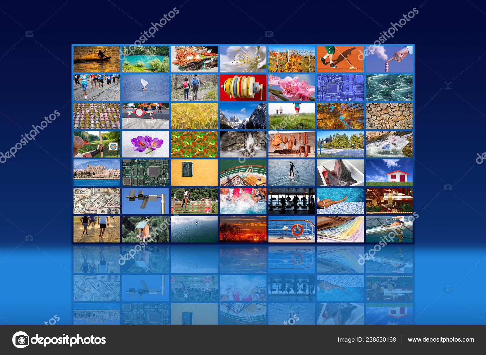 Big Multimedia Video Wall Widescreen Web Streaming Media