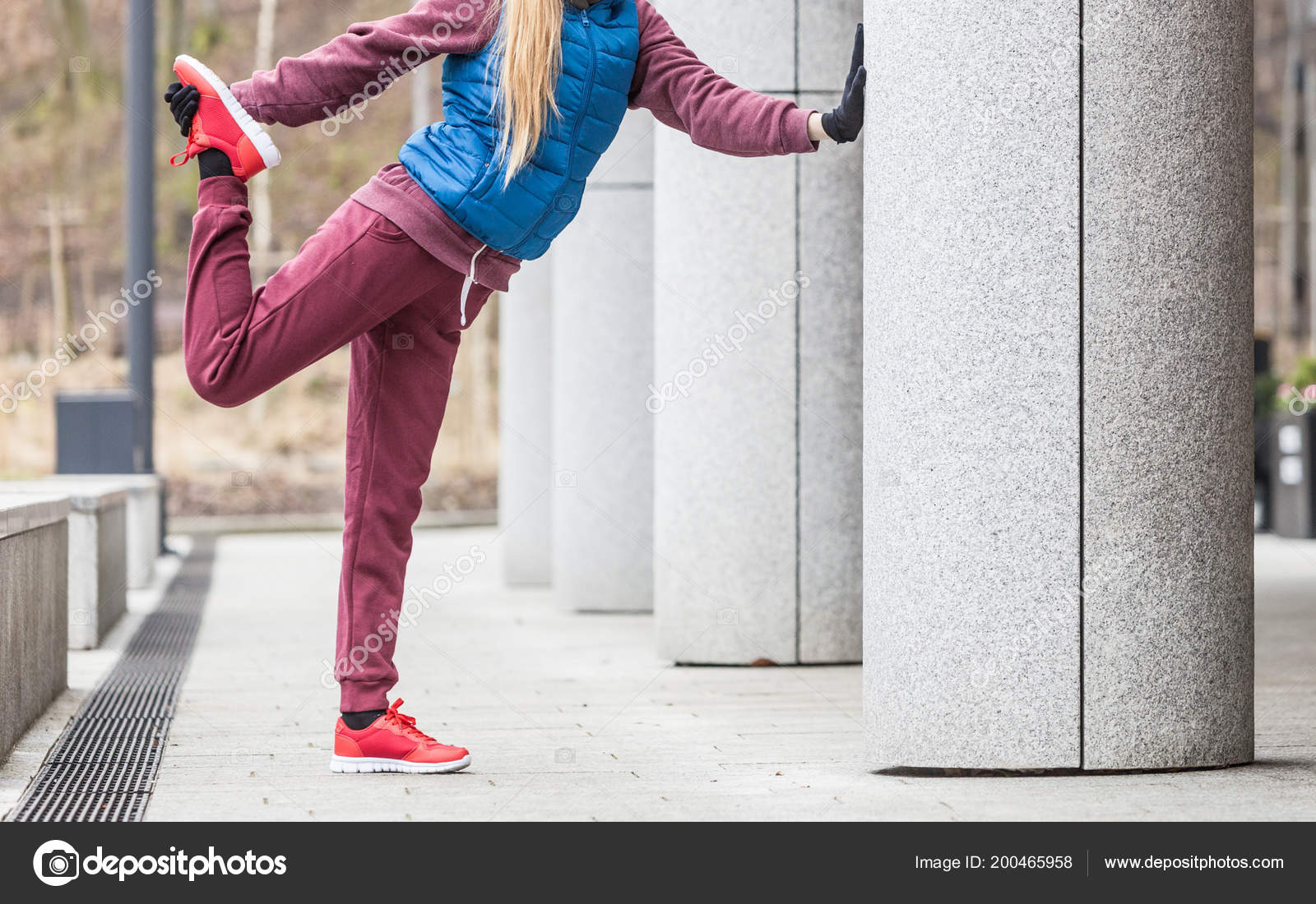 Ejercicios Deporte Aire Libre Ideas Outfit Deportivo Mujer Vestida ...