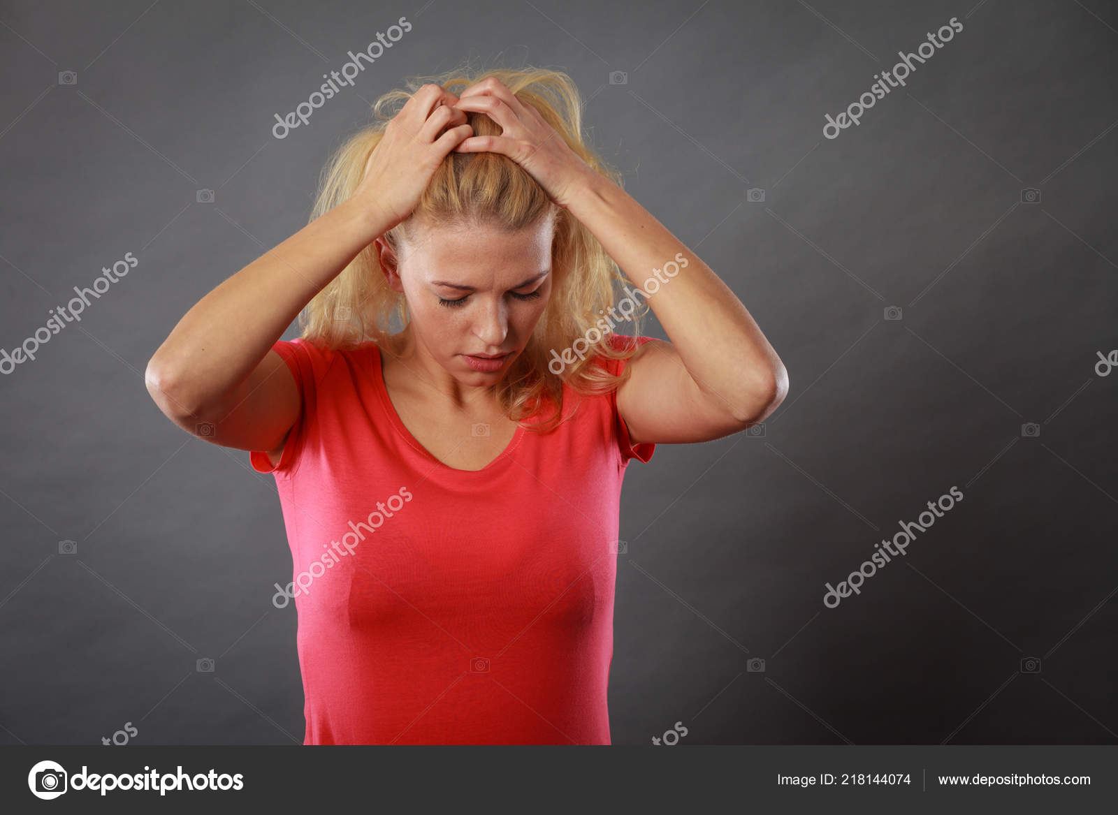 Wife emotionally stressed during blowjobs