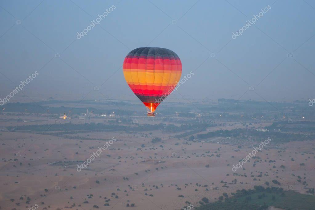 Flying air balloon