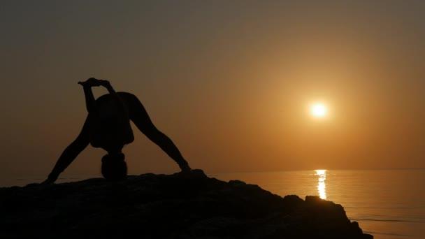 Meditating near the sea