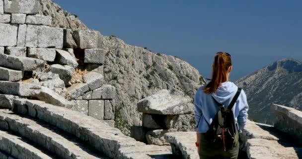 Starověké město Thermessos nedaleko Antalya v Turecku