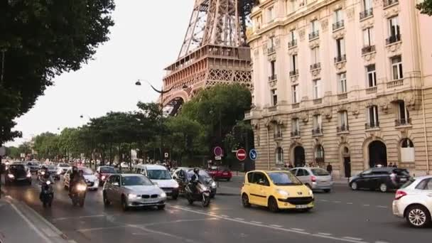 Eiffel Tower, Paris, low angle