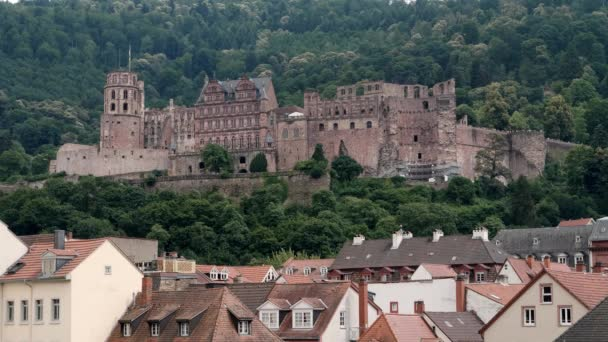 Rovina del Castello di Heidelberg, angolo basso, estate 2018
