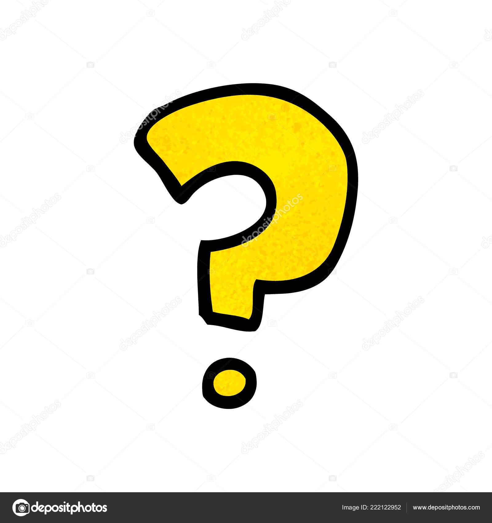 Cartoon Doodle Question Mark Stock Vector C Lineartestpilot 222122952