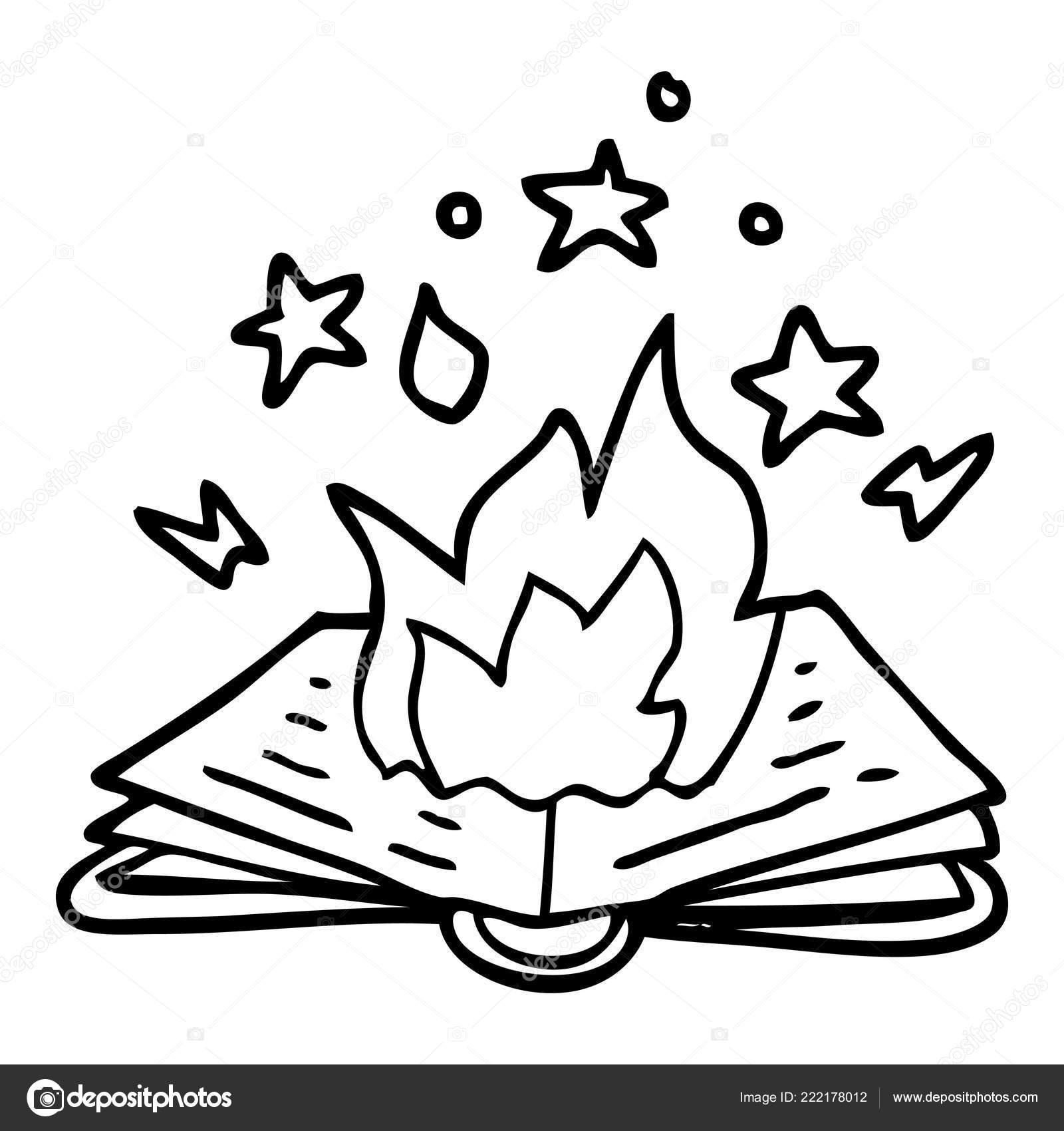Livre Sorts Pour Dessin Anime Dessin Trait Image