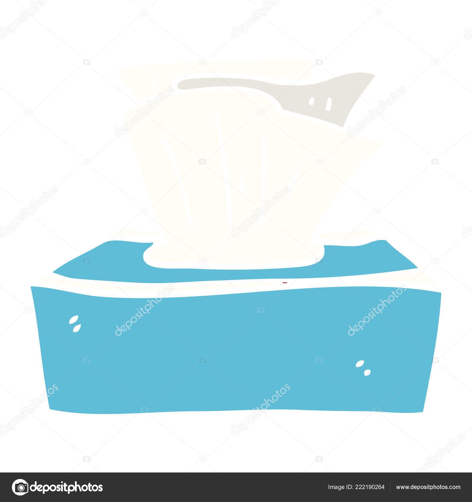 Cartoon Doodle Box Tissues Stock Vector Lineartestpilot 222190264