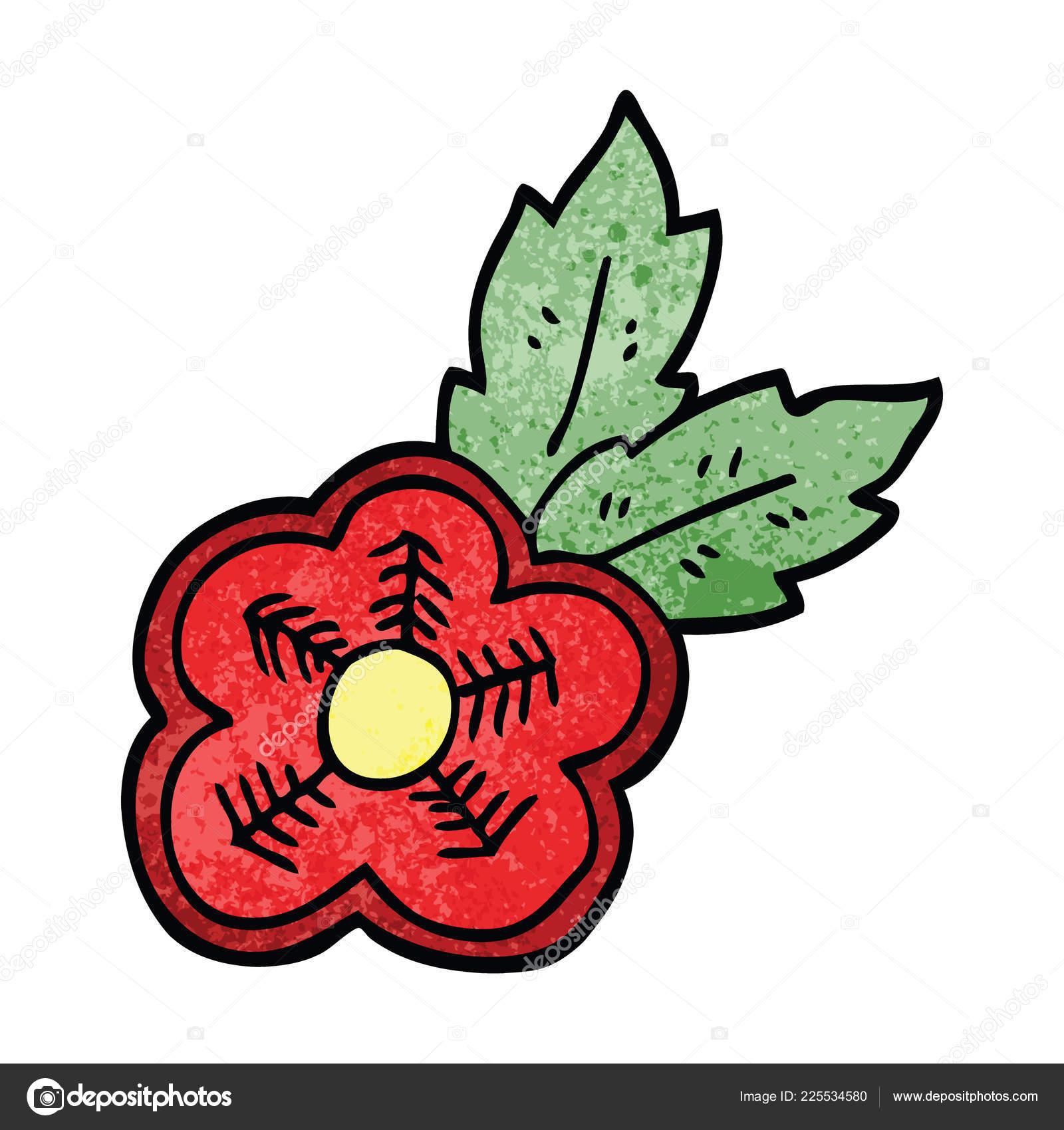 0f6d52a1e Cartoon Doodle Rose Tattoo Symbol — Stock Vector © lineartestpilot ...