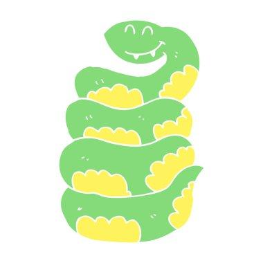 "Картина, постер, плакат, фотообои ""мультяшная змея "", артикул 225579058"