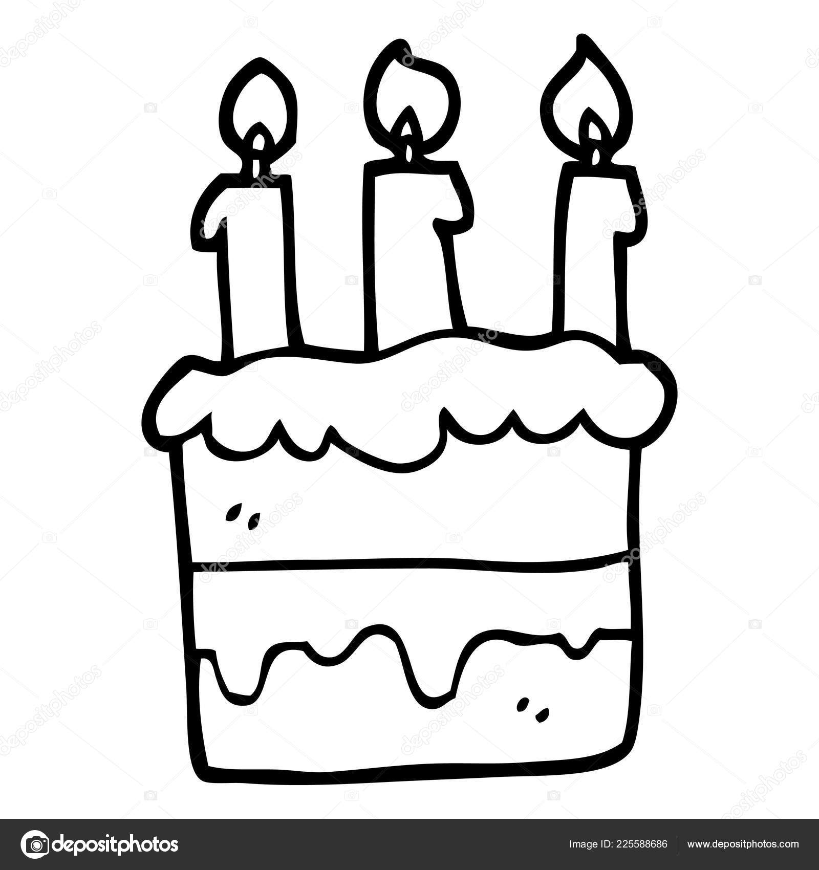 Awesome Clipart Birthday Cake Black And White Black White Cartoon Funny Birthday Cards Online Elaedamsfinfo