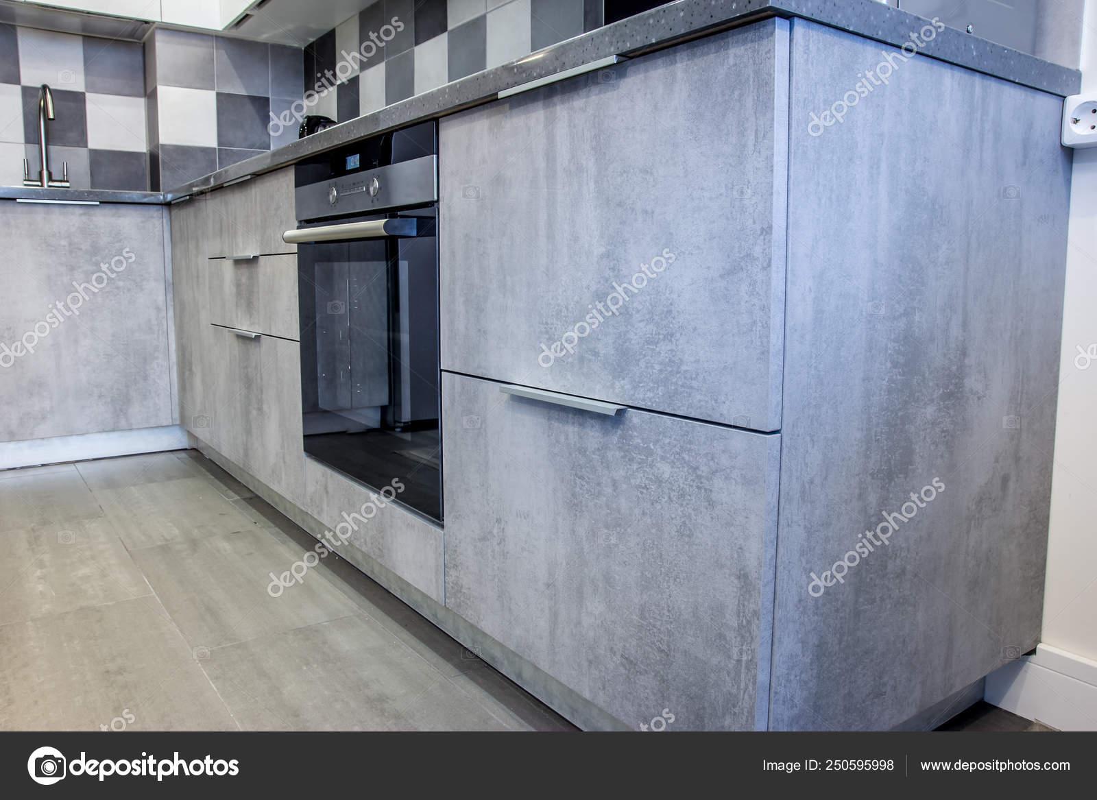 gabinetes de cocina en cemento Elementos Decoracin Cocina Hogar Interior Con Gris Cemento