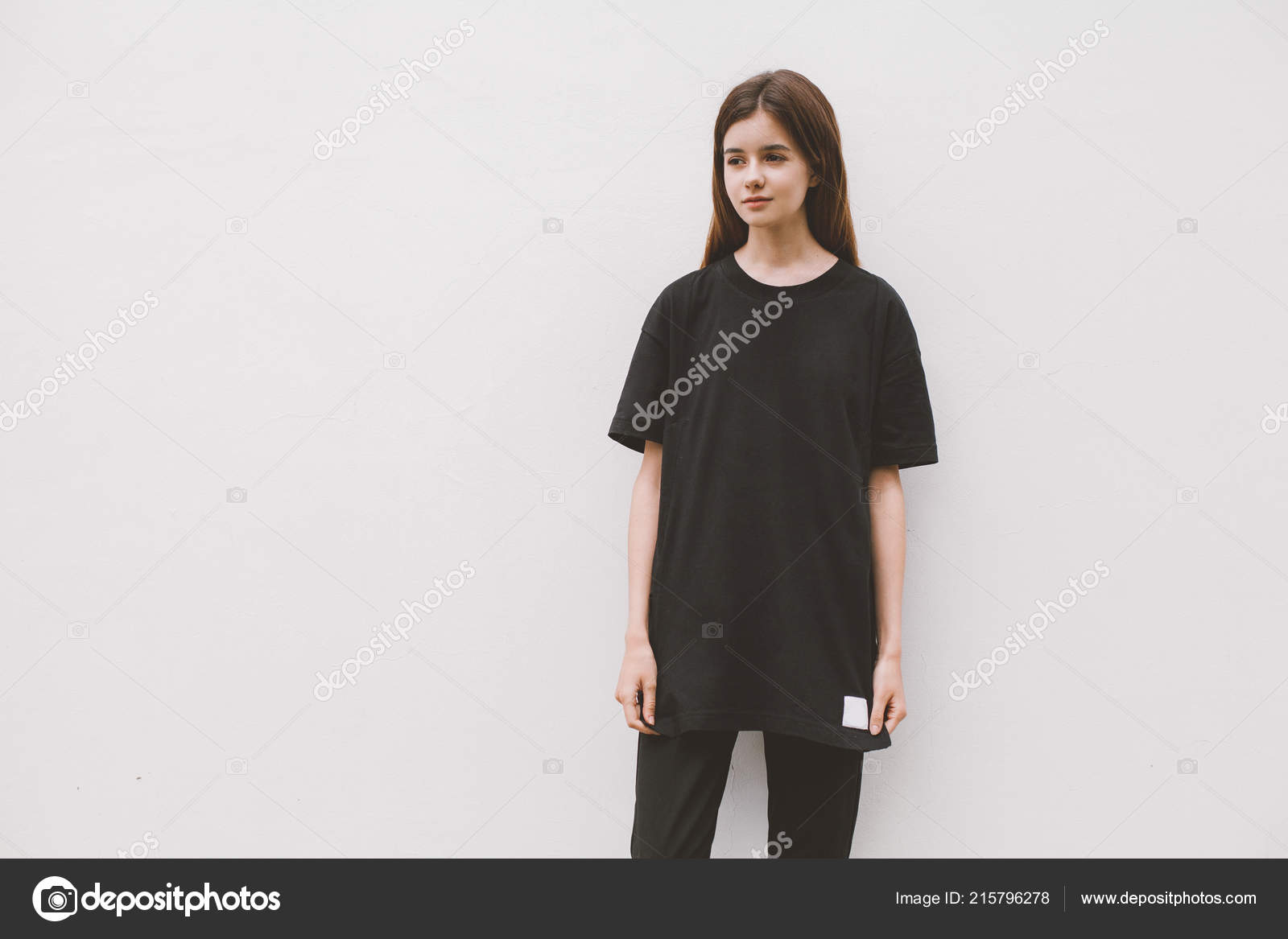 Dünne schwarze Mädchenpussy