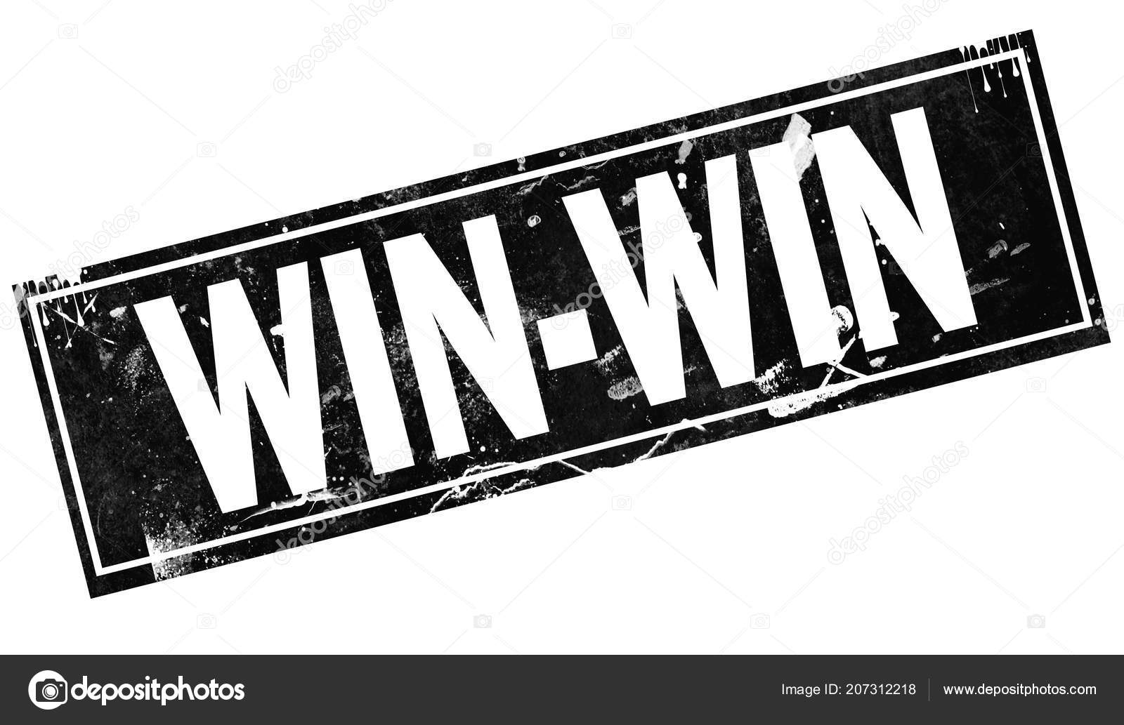 Win Win Word Black Frame Rendering — Stock Photo © tang90246 #207312218
