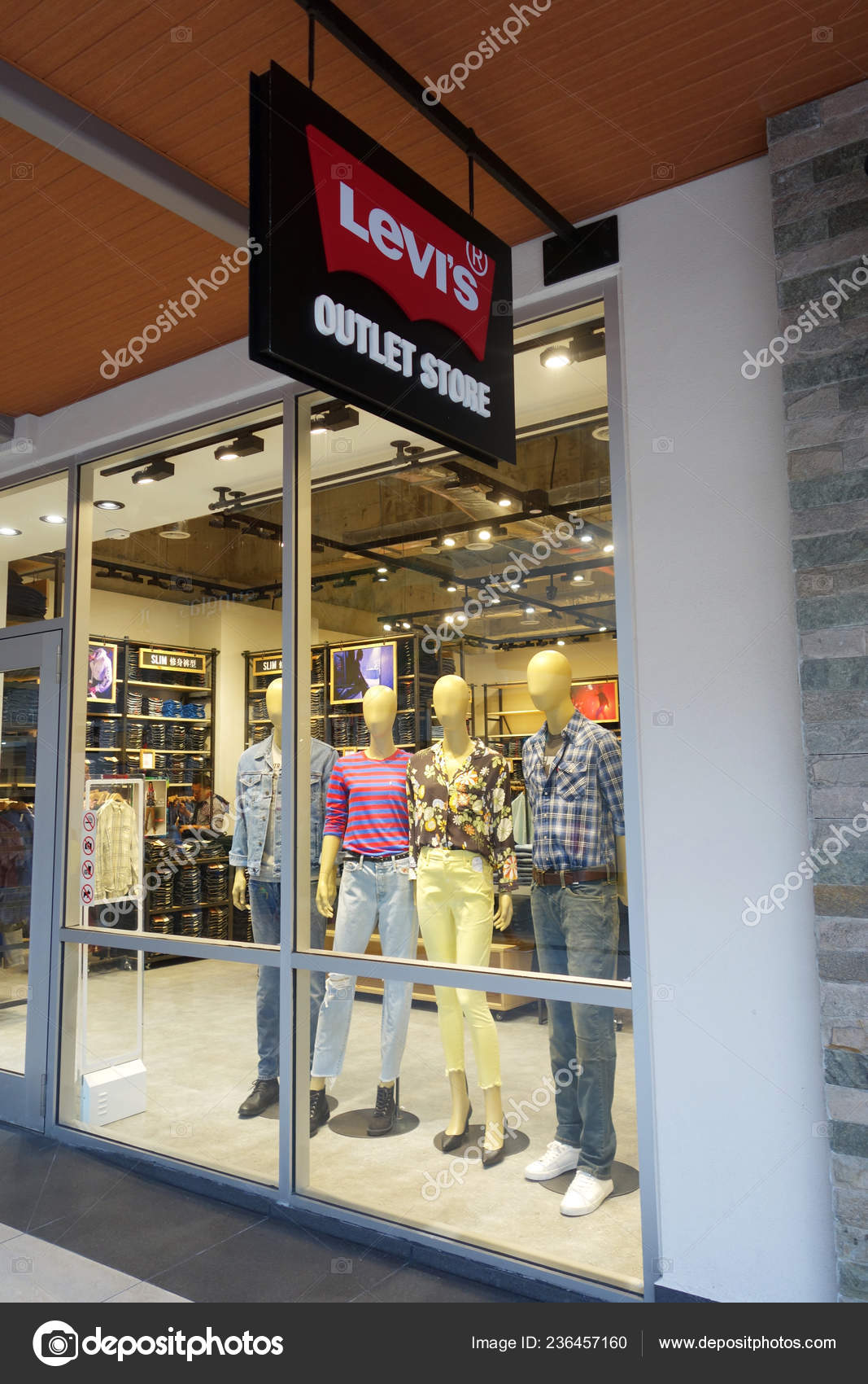 8b2f1e2f18f Genting Highlands Malaysia Dec 2018 Levi Outlet Store Genting Highlands —  Stock Photo