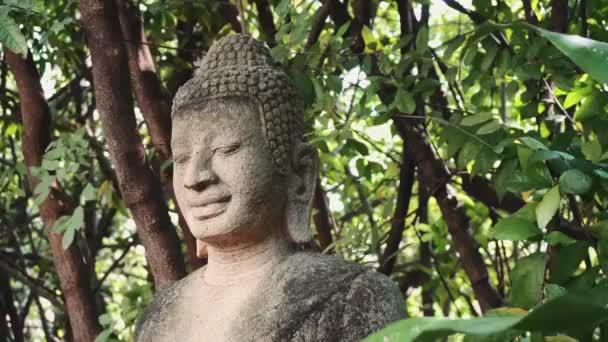 Kamenný Buddha socha Phnom Penh, Kambodža