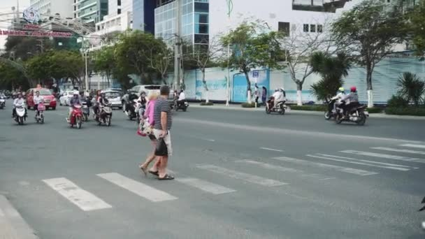 Congested Road In Nha Trang, Busy Rush Hour, Infrastructure, Transportation, Vietnam