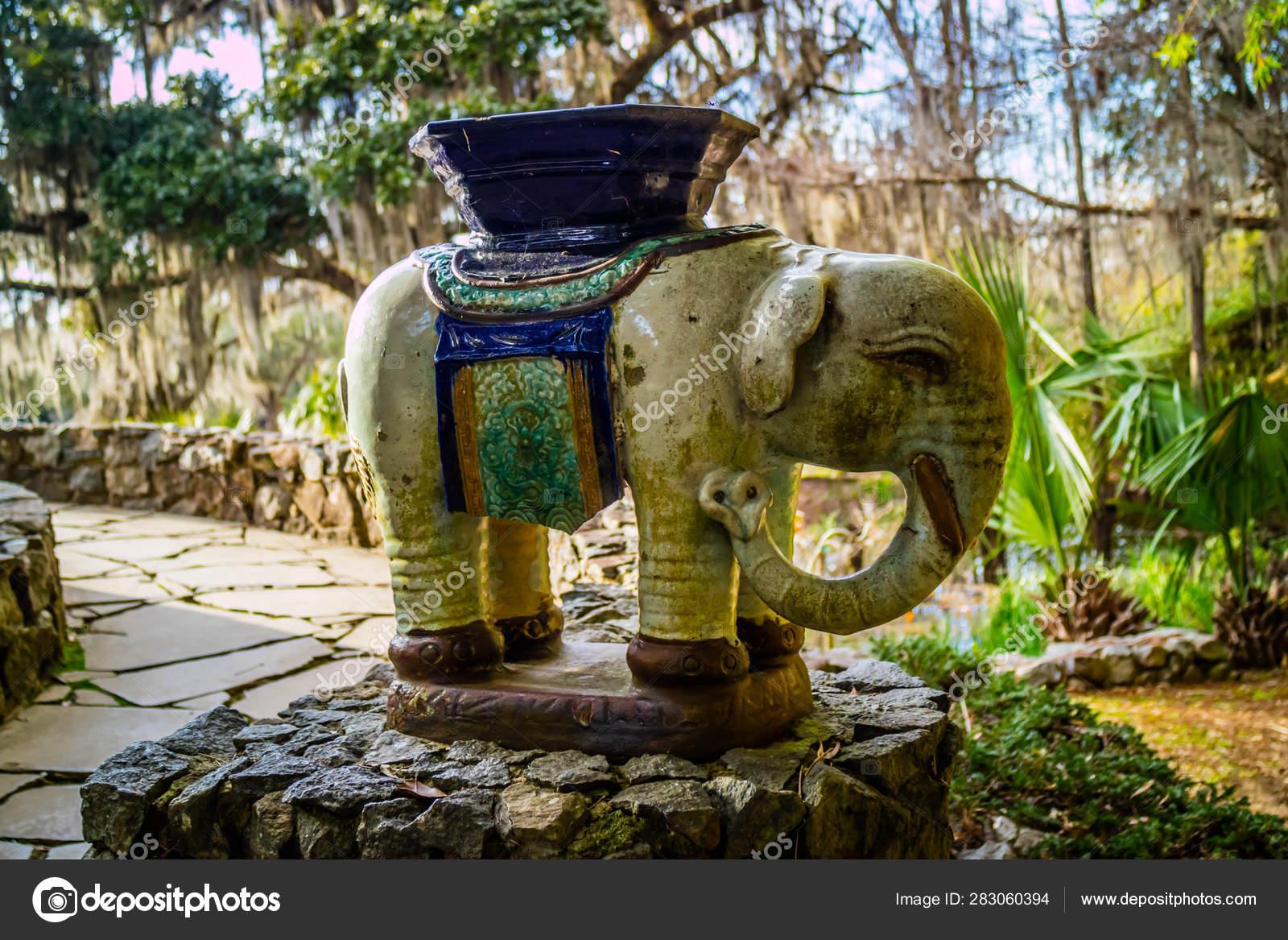 An Old Buddha Shrine In In Avery Island Louisiana Stock Editorial Photo C Cherialguire 283060394