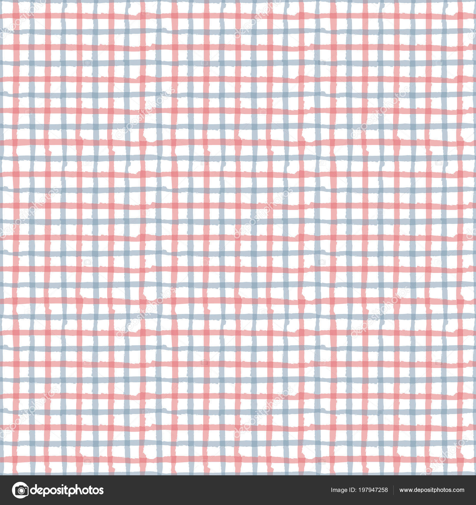 Plaid Amerikaanse Vlag.Amerikaanse Vlag Getekende Pastel Naadloze Lijnpatroon