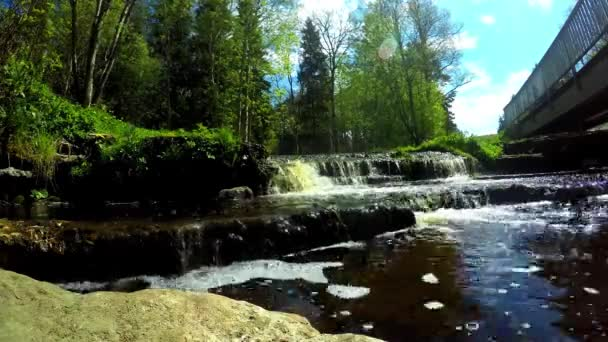A beautiful timelapse with small river