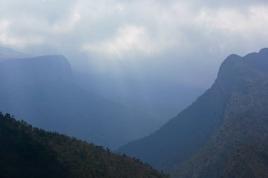 Misty Cloud Covered Mountains And Valleys, Limpopo, South Africa