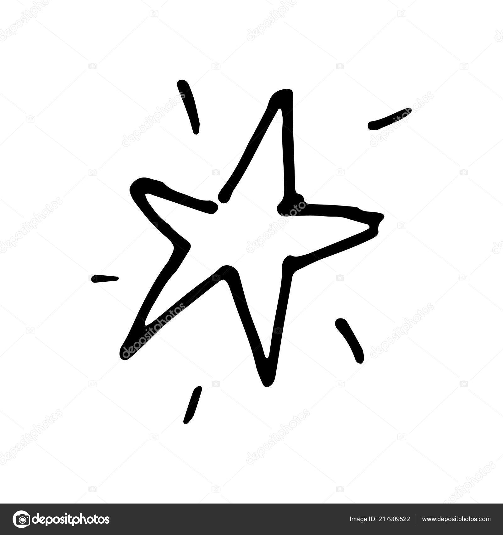 Hand Drawn Star Doodle Sketch Style Icon Decoration Element Isolated Stock Vector C Frozenbunn 217909522 Download this star notebook doodles on lined paper vector illustration now. https depositphotos com 217909522 stock illustration hand drawn star doodle sketch html