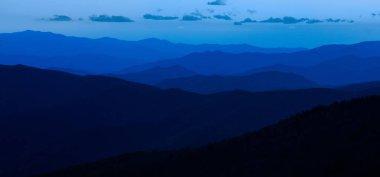 Smokey Mountains National Park blue