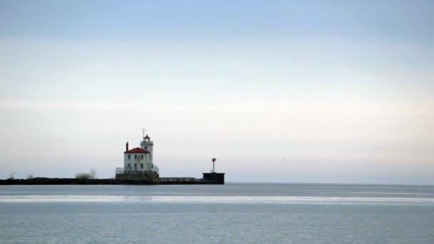 Great Lake Erie Küste Leuchtturm ein historischer Leuchtturm