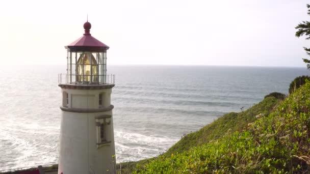 Heceta hlava z Usa námořní Beacon Hill Oregon Coast maják