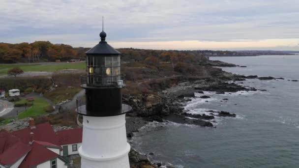 Berühmten Portland Head Light atlantische Küste Leuchtturm