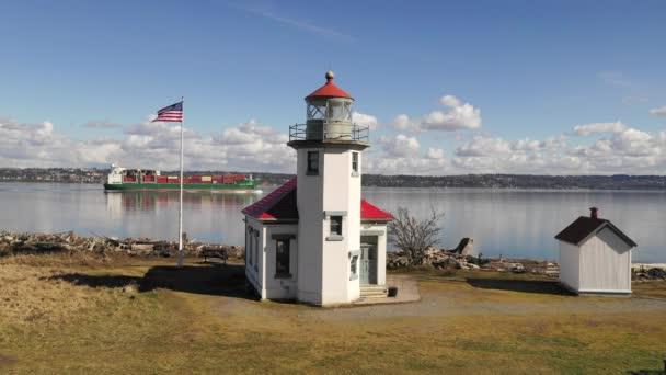 Maury Island Point Robinson Leuchtturm Puget Sound Vashon Insel
