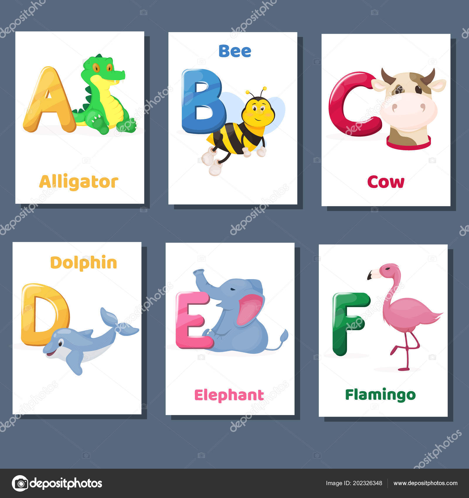 picture about Zoo Phonics Printable named Zoo phonics flash playing cards printable Alphabet printable