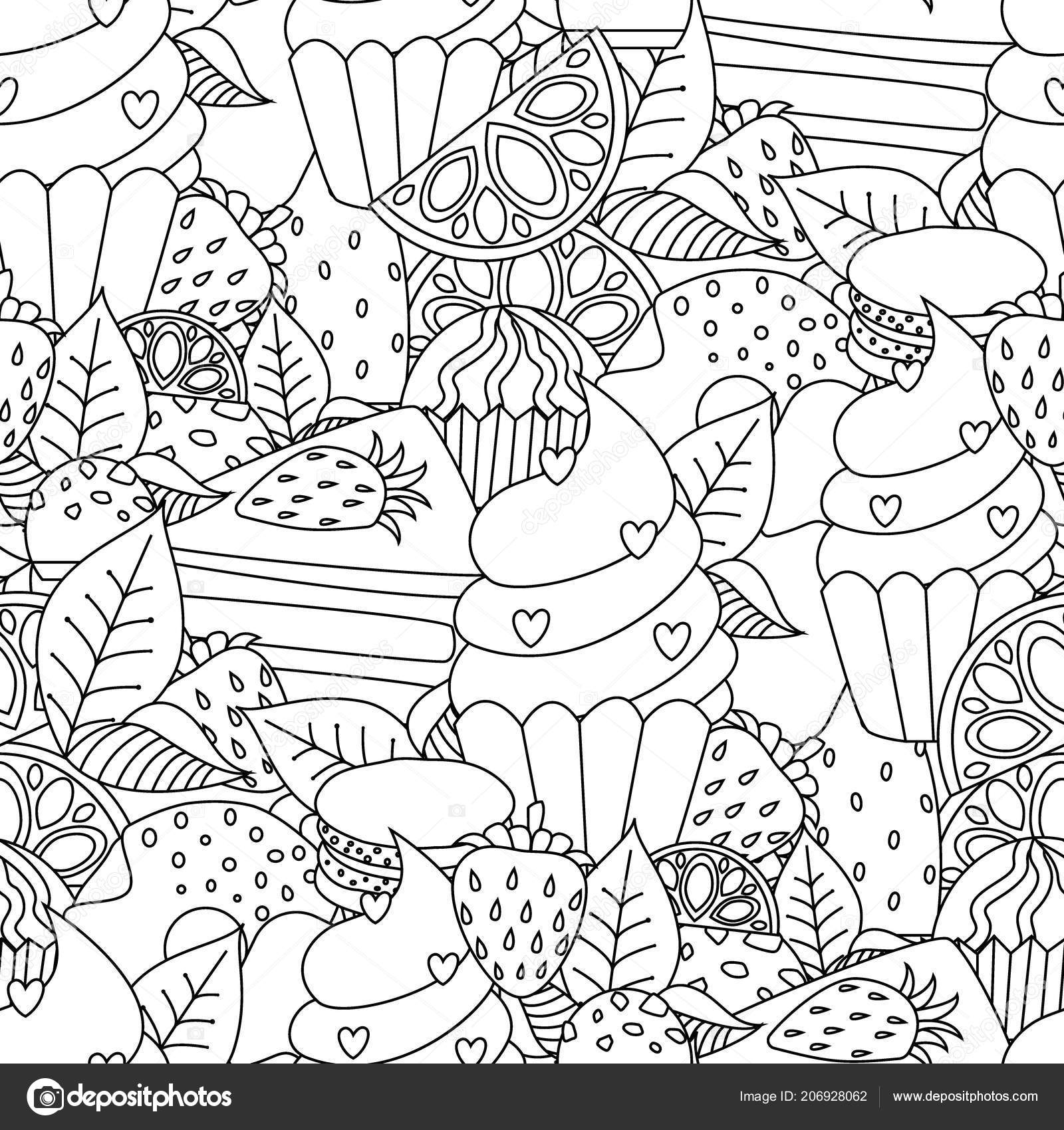 Coloriage Anti Stress Maternelle.Coloriage Livre Dessines Main Esquisse Oeuvre Page Illustration