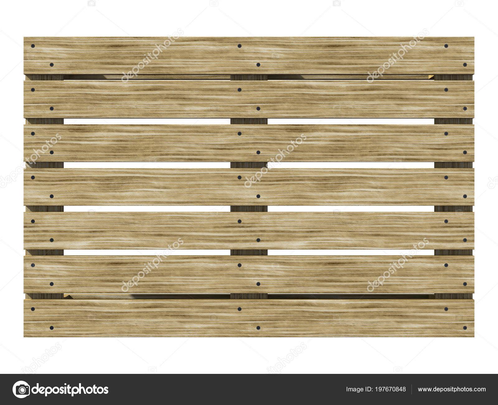 Wooden Euro Pane Top View Texture Pallet Illustration Stock Photo