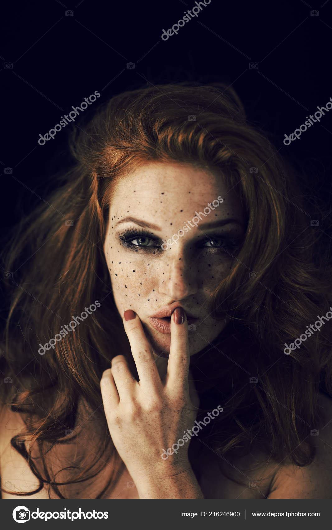 Join girl with red hair freckles remarkable, this