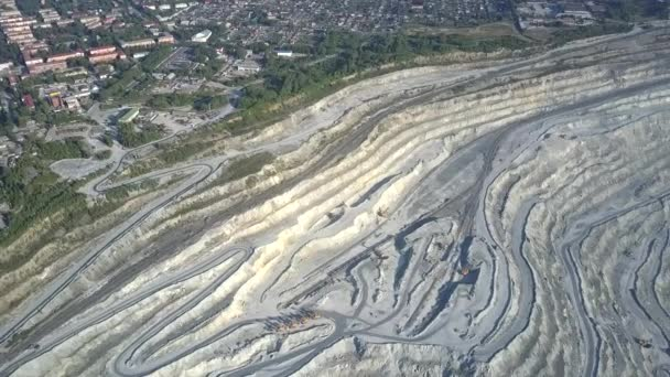 motion from green town to asbestos quarry stepped terraces