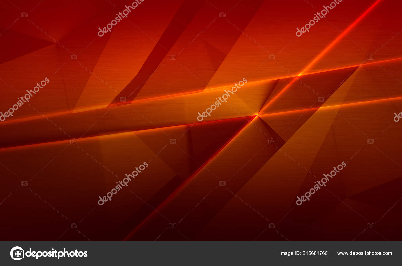 Abstract Red Brown Color Background Polygonal Brushed